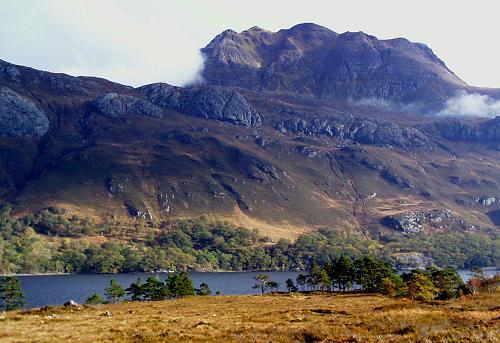 Loch Maree Islands Loch Maree Slioch